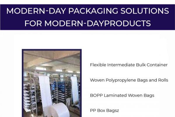 Modern-day packaging solutions for modern-day products