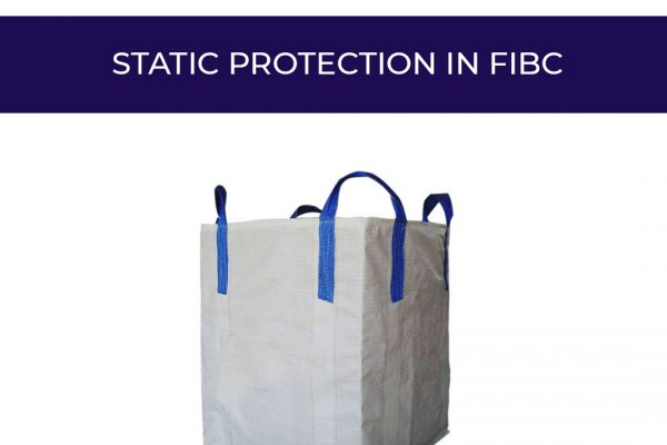 What is static protection in FIBC?